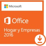 OFFICE 2016 HOME AND BUSINESS 1 PC ESD LIC ELECTRO