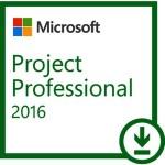 MICROSOFT PROJECT PROFESSIONAL 2016 ESD LIC ELECTR