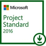 MICROSOFT PROJECT STANDARD 2016 ESD LIC ELECTRONIC