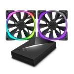 NZXT Aer RGB Ventilador 140mm + Controlador Hue+