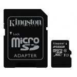 MEM MICRO SD 256GB KINGSTON CL10 GEN2 + ADAPT SD