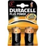 DURACELL pila alcalina Plus Power LR14 C PACK-2