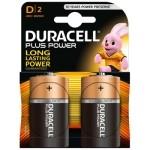 DURACELL PLUS POWER PILA ALCALINA D LR20 BLISTER*2