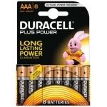 DURACELL PLUS POWER PILA ALCALINA AAA LR03 BLISTER