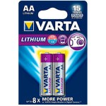 PILAS LITIO VARTA AA 2900MAH PACK 2