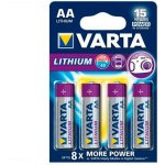 PILAS LITIO VARTA AA 2900MAH PACK 4