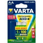 PILAS RECARGABLES VARTA AA 1600MAH PACK 2