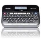 Brother PTD450VP rotul. elec. teclado y conex.PC