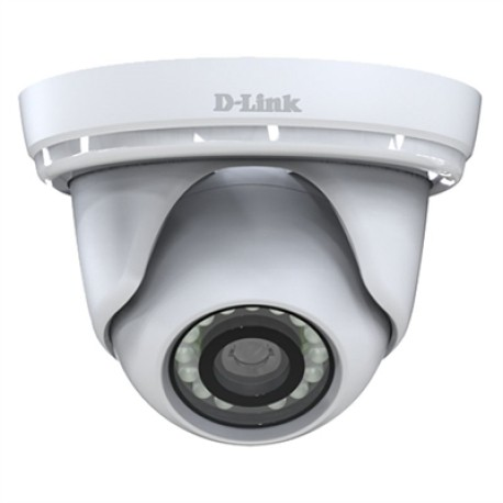 D-Link DCS-4802E Camara Mini Domo IP FHD PoE