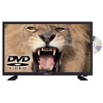"Nevir 7412 TV 24"" LED HD USB DVR 12V HDMI+DVD neg"