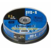 Intenso DVD+R DL 8x 8.5GB Tarrina 10 Unidades