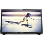 "Led tv philips 22"" 22pft4232 negro"