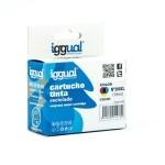 iggual Cartucho Reciclado HP Nº 300XL CC644EE Colo