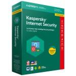 Kaspersky Lab Internet Security 2018 3usuario(s) 1año(s) Full license Español