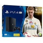 VIDEOCONSOLA SONY PS4 1TB + FIFA 18 + PS PLUS 14D