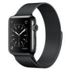 Apple Watch Series 2 42mm Smartwatch Caja Acero Inoxidable Negro/Correa Milanese Loop