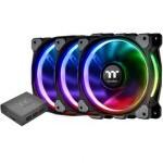 Thermaltake Riing Plus 12 RGB Premium Edition Pack 3 Ventiladores 120mm