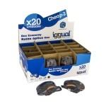 iggual CHEAP-2 Pack 20 Ratones Mini óptico USB Neg