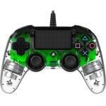 Nacon Compact Controller Wired para PS4 Iluminado Verde