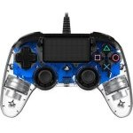 Nacon Compact Controller Wired para PS4 Iluminado Azul