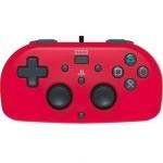 Hori Horipad Mini para PS4 Rojo