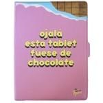 "Tan Tan Fan Funda Tablet 10"" Vecina Rubia Chocolat"