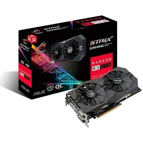 VGA ASUS RX570 STRIX GAMING OC 4GB GDDR5