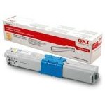 TONER OKI C310-C330-C510-MC361 AMARILLO 2000 PAGIN