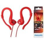 AURICULAR PHILIPS DEPORTIVO COLOR ROJO