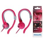 AURICULAR PHILIPS DEPORTIVO COLOR ROSA