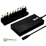iggual Cargador Port Autom 90W Slim USB3 + 10 Cla