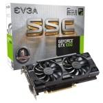 EVGA VGA NVIDIA GTX 1050 SSC ACX3.0 2GB DDR5