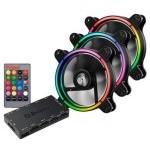 VENT 120X120 ENERMAX T.B. RGB PACK 3 UD