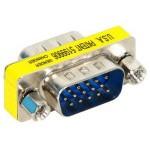 Mini Adaptador SVGA Macho/Hembra