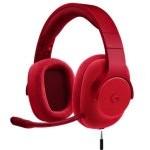Logitech G433 Auriculares Gaming Rojos