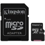 MEM MICRO SD 64GB KINGSTON CANVAS CL10 UHS-I+ADAPT SDCS/64