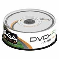 OMEGA FREESTYLE DVD-R 4,7GB 16X TARRINA 25 UDS.