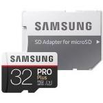 Samsung MicroSD PRO Plus 2017 32GB Clase 10 UHS-1 con Adaptador
