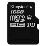 MEM MICRO SDHC 16GB KINGSTON CANVAS SELECT CL10