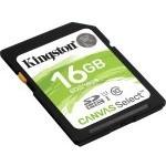 MEMORIA SECURE DIGITAL 16GB KINGSTON CANVAS SELEC