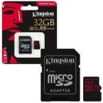 MEMORIA MICRO SD 32GB KINGSTON CANVAS REACT 4K