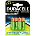 Duracell Pack 4 Pilas Recargables 2400mAh AA LR6