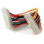 Startech Cable Extensor de Alimentación ATX 24 pin Macho/Hembra 20cm