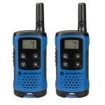 Motorola TLKR T41 Pack 2 Walkie Talkie Azules
