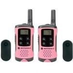 Motorola TLKR T41 Pack 2 Walkie Talkie Rosas
