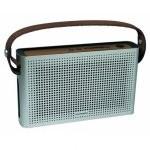 Schneider Groove HD Altavoz Radio Bluetooth Plata