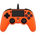 Nacon Compact Controller Wired para PS4 Naranja