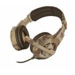 Trust GXT 310D Auriculares Gaming Camuflaje