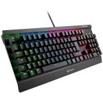 TECLADO GAMING SHARKOON SGK3 RGB SWITCH MARRON