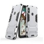 German Tech Funda Cool Shield Plata para Xiaomi Mi A2 Lite/Redmi 6 Pro